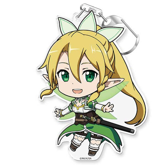 (PO) Sword Art Online Puni Colle! Key Chain with Stand - Leafa Caliber (10)