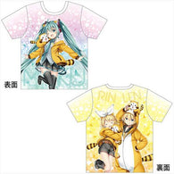 Hatsune Miku x Rascal the Raccoon 2018 Full Graphic T-shirt