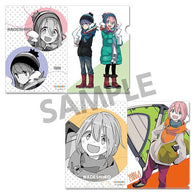 (PO) Yurucamp Clear File Set Original Edition Vol. 3 B (7)