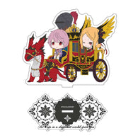 (PO) Re:Zero Starting Life in Another World CharaRide Acrylic Stand - Priscilla Camp (7)