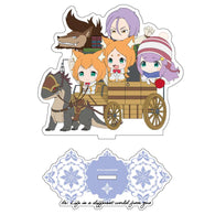 (PO) Re:Zero Starting Life in Another World CharaRide Acrylic Stand - Anastasia Camp (7)