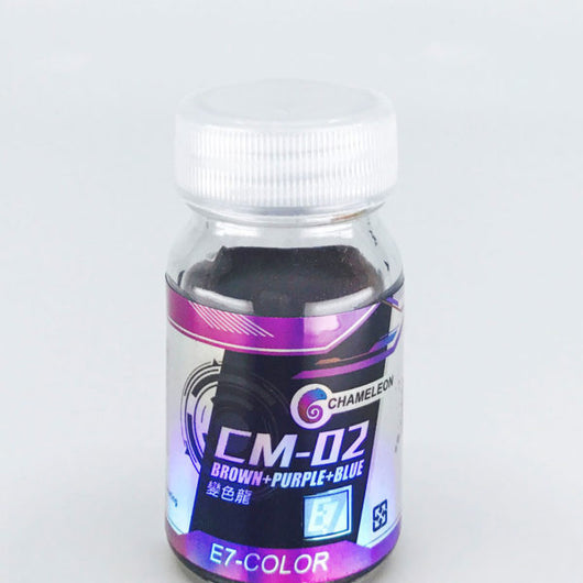 E7 - CM-02 Chameleon Brown Purple Blue (20ml)