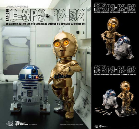 Egg Attack Action EAA-010 - Star Wars EPV - C-3PO & R2-D2