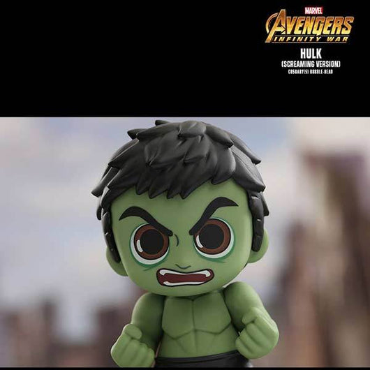 COSB446 Avengers: Infinity War - Hulk (Screaming Version) Cosbaby
