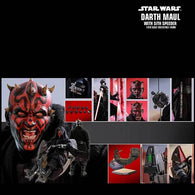 DX17 – Star Wars Episode I: The Phantom Menace – 1/6th scale Darth Maul with Sith Speeder