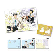 Haikyu! 3 Pocket Clear File Mascot - Bokuto & Akaashi