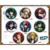 My Hero Academia Trading Can Badge Portrait (3)