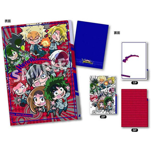 My Hero Academia 3 pocket Clear File School uniform ver.