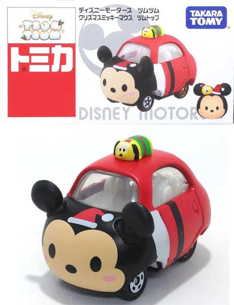 Tomica Disney Motors Tsumu Tsumu - Christmas Mickey Mouse Top