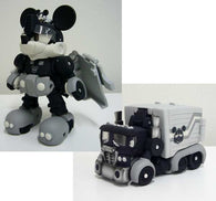 Transformers Disney Label Micky Mouse Trailer Monochrome