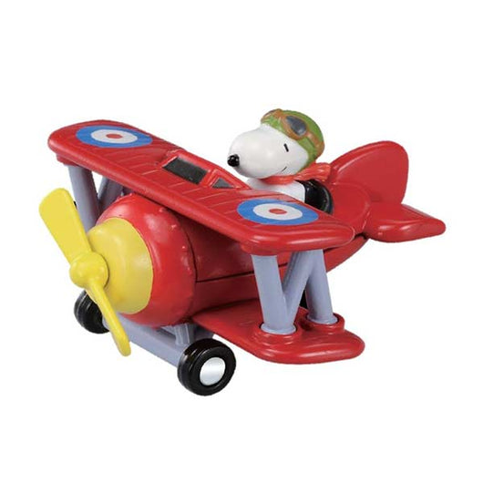Dream Tomica Ride on R08 - Snoopy (Flying Ace)