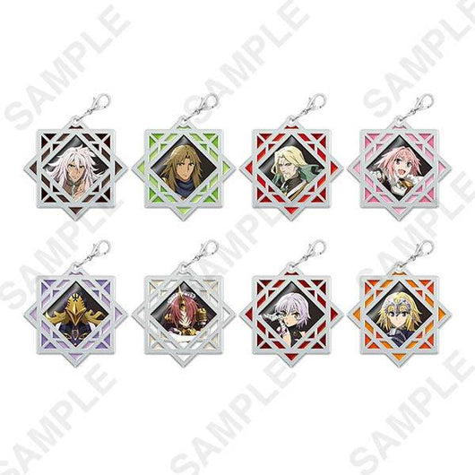 Fate/Apocrypha Clear Stained Charm Collection Ver. Black