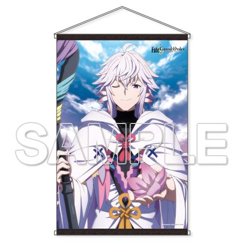 (PO) Fate/Grand Order -Absolute Demonic Battlefront: Babylonia- Merlin B2 Tapestry (2)