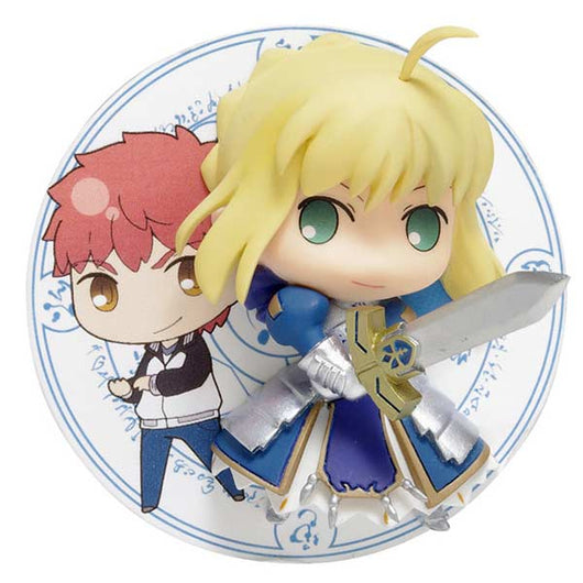 Fate/stay night [Unlimited Blade Works] - Saber Shirou Emiya 2.5 Jigen Badge