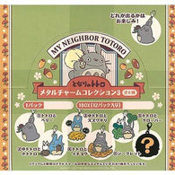 Studio Ghibli My Neighbor Totoro Metal Charm Collection 3