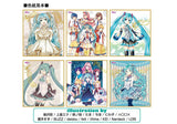 Hatsune Miku Visual Shikishi Collection with Gum
