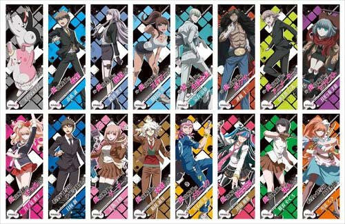 Danganronpa 3 -The End of Kibogamine Gakuen- Character Poster Collection