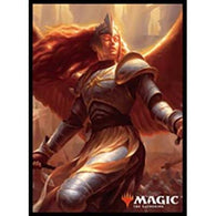 MAGIC: The Gathering Card Sleeve Guilds of Ravnica Aurelia, Exemplar of Justice MTGS-072 (4)