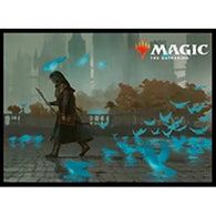 MAGIC: The Gathering Card Sleeve Guilds of Ravnica Murmuring Mystic MTGS-074 (4)