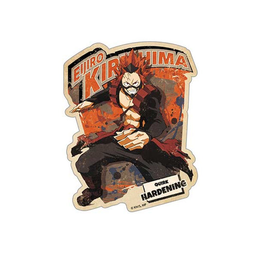 (PO) My Hero Academia Travel Sticker Action 6 Kirishima Eijiro (8)