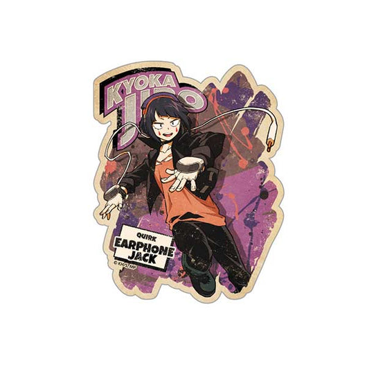 (PO) My Hero Academia Travel Sticker Action 8 Jiro Kyoka (8)