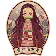 Demon Slayer: Kimetsu no Yaiba - Travel Sticker 3 Kamado Nezuko