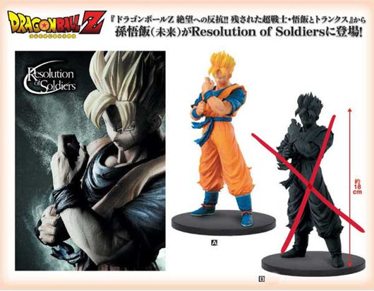 Dragonball Z Resolution of Soldiers Vol.6 - Son Gohan (Future)