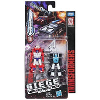 Transformers Generations War For Cybertron: Siege Micromaster Wave 2 - Red Heat & Stakeout