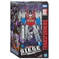 Transformers Generations War For Cybertron: Siege Voyager Wave 2 - Starscream