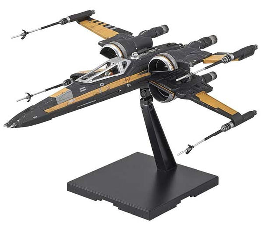 1/72 Star Wars The Last Jedi Poe Dameron Booster X-Wing Fighter