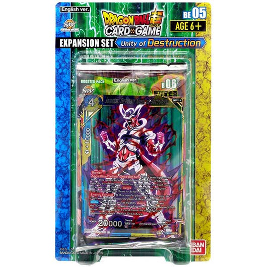 Dragonball Super TCG Expansion set - Unity of Destruction