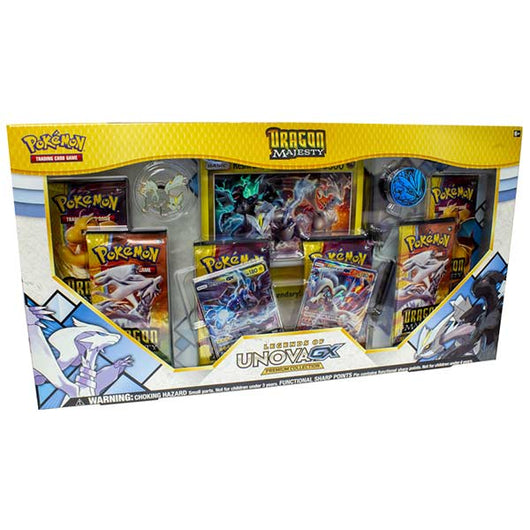 Pokemon Dragon Majesty Legends of Unova GX Premium Collection