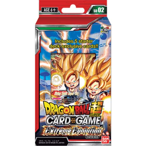 Dragonball Super TCG DB3 Starter 02 - Extreme Evolution