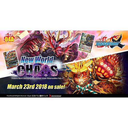 BuddyFight X Booster Vol.04A (New World Chaos) (Eng)
