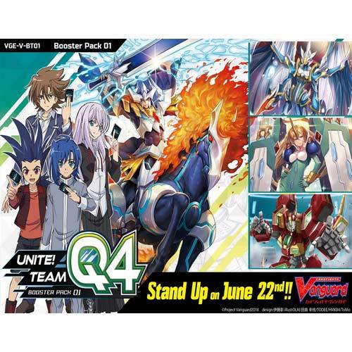 CardFight! Vanguard Booster Pack Vol.1 VGE-V-BT01 - Kessei! Team Q4 (Eng)