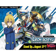 CardFight! Vanguard V Trial Deck Vol.03 [VGE-V-TD03: Leon Soryu] (Eng)