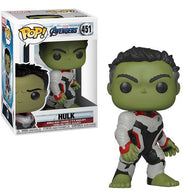 Funko POP Marvel #451 - Avengers: End Game Hulk QR Suit