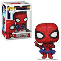 Funko POP Marvel #468 - Far From Home - Spider-Man (Hero Suit)