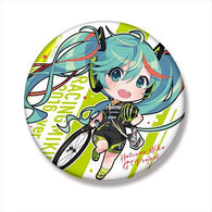 (PO) Hatsune Miku GT Project Hatsune Miku Racing Ver. 2016 Big Can Badge Team UKYO Cheer Ver. (2)