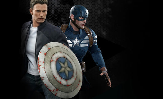 MMS243 – Captain America & Steve Rogers Figure Set
