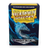 Dragon Shield Matte Sleeves - Night Blue