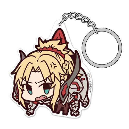 (PO) Fate/Apocrypha Acrylic Tsumamare Key Chain - Saber of Red (1)