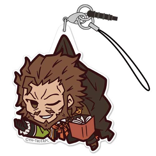 (PO) Fate/Apocrypha Acrylic Tsumamare Strap - Caster of Red (1)