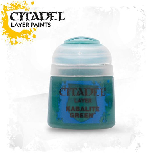 Citadel Layer Paint - Kabalite Green