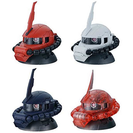 Gundam EXCEED MODEL ZAKU HEAD 2 (w/Clear Char's Zaku Head)