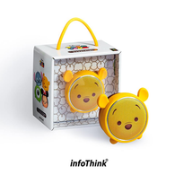 Disney Tsumu Tsumu Bluetooth Speaker - Pooh