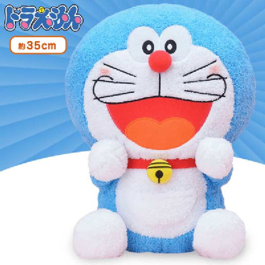 Doraemon Fluffy Plush