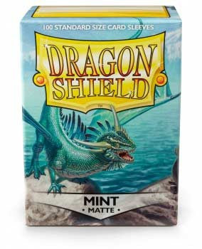 Dragon Shield Matte Sleeves - Mint