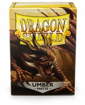 Dragon Shield Matte Sleeves - Umber