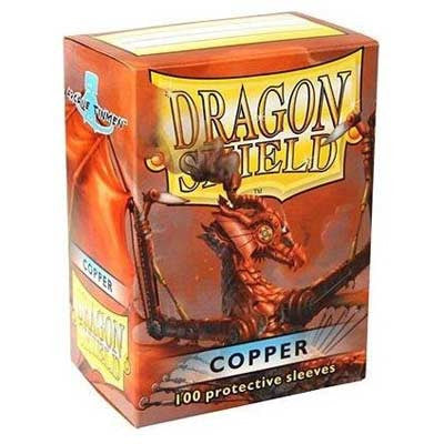 Dragon Shield Sleeves - Copper